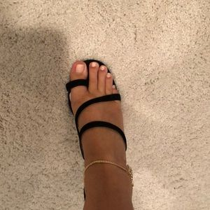 raye x stone cold fox black heels